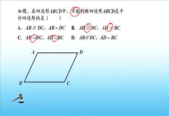 平行四边形包括长方形和正方形吗