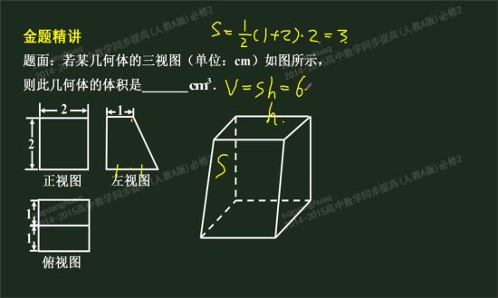 柱,棱台,棱锥的表面积,体积的公式和圆图片