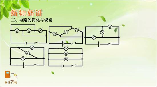 串联电路和并联电路知识结构图